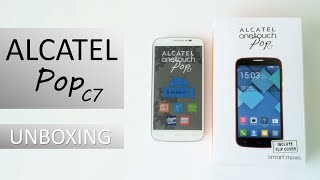 Alcatel Pop C7 Unboxing