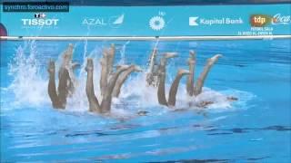 Russian Federation (RUS) Team Final Baku European Games 2015