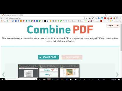How to combine sheet music jpg images into a consolidated pdf file