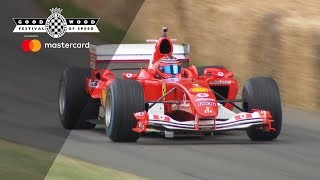 UK Ferrari Debut at the Goodwood Festival of Speed Videos