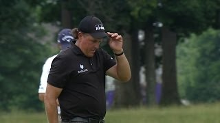 Phil Mickelson highlights from Round 2 at FedEx St. Jude