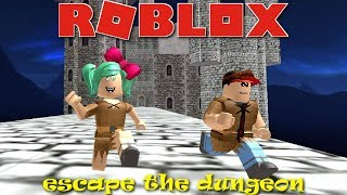 Roblox Escape the Dungeon Obby with Effect2o! SallyGreenGamer Geegee92 Family Friendly