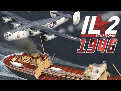IL-2 1946: Liberator attacks Flying Boats and Ships
