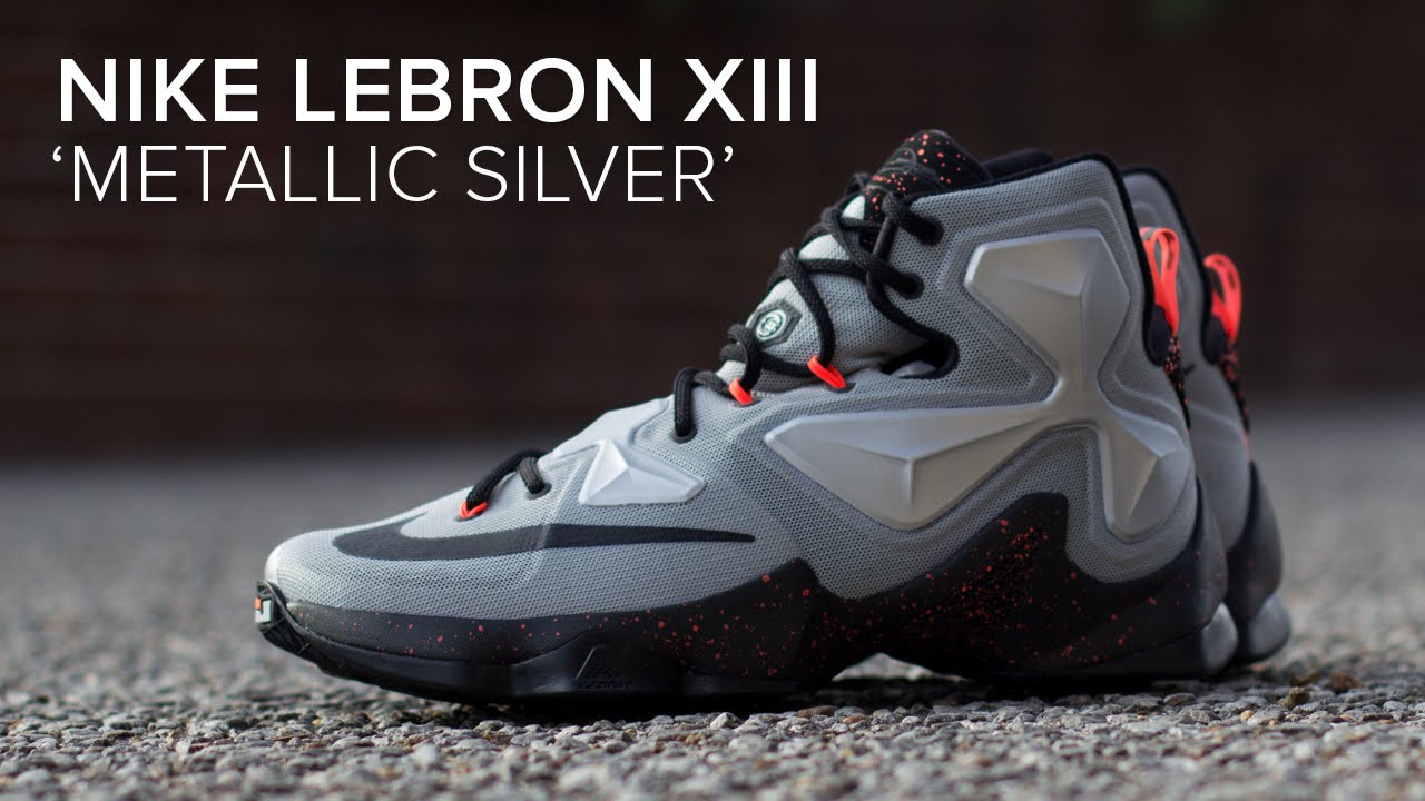 the latest 7eb9c eef36 LeBron 13 Silver Zoom Trece 'Metallic Silver' Quick On Feet Review