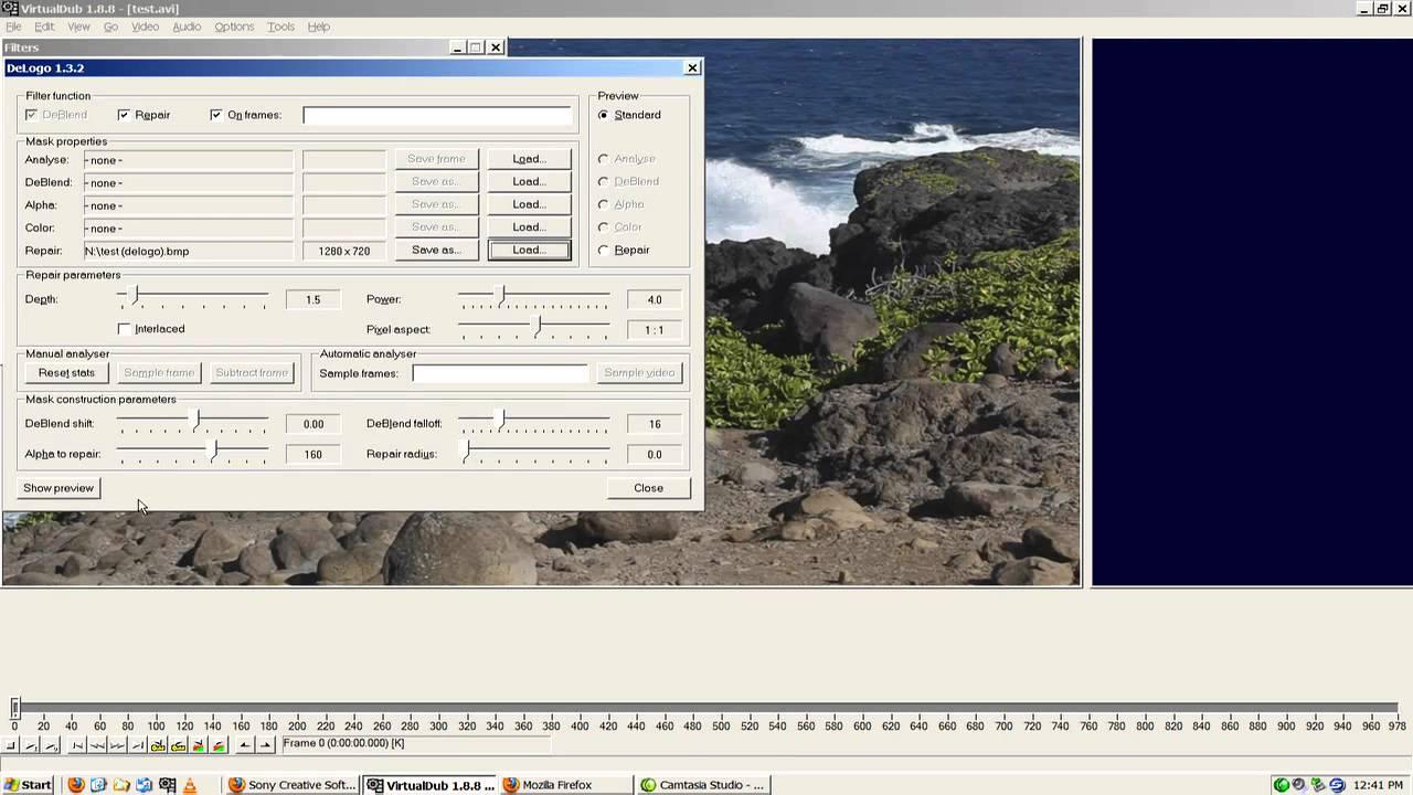virtualdub delogo 1.3.2