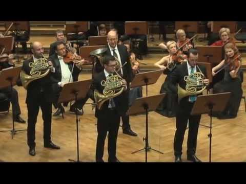 R. Schumann - Konzertstück for Four Horns and Orchestra op. 86