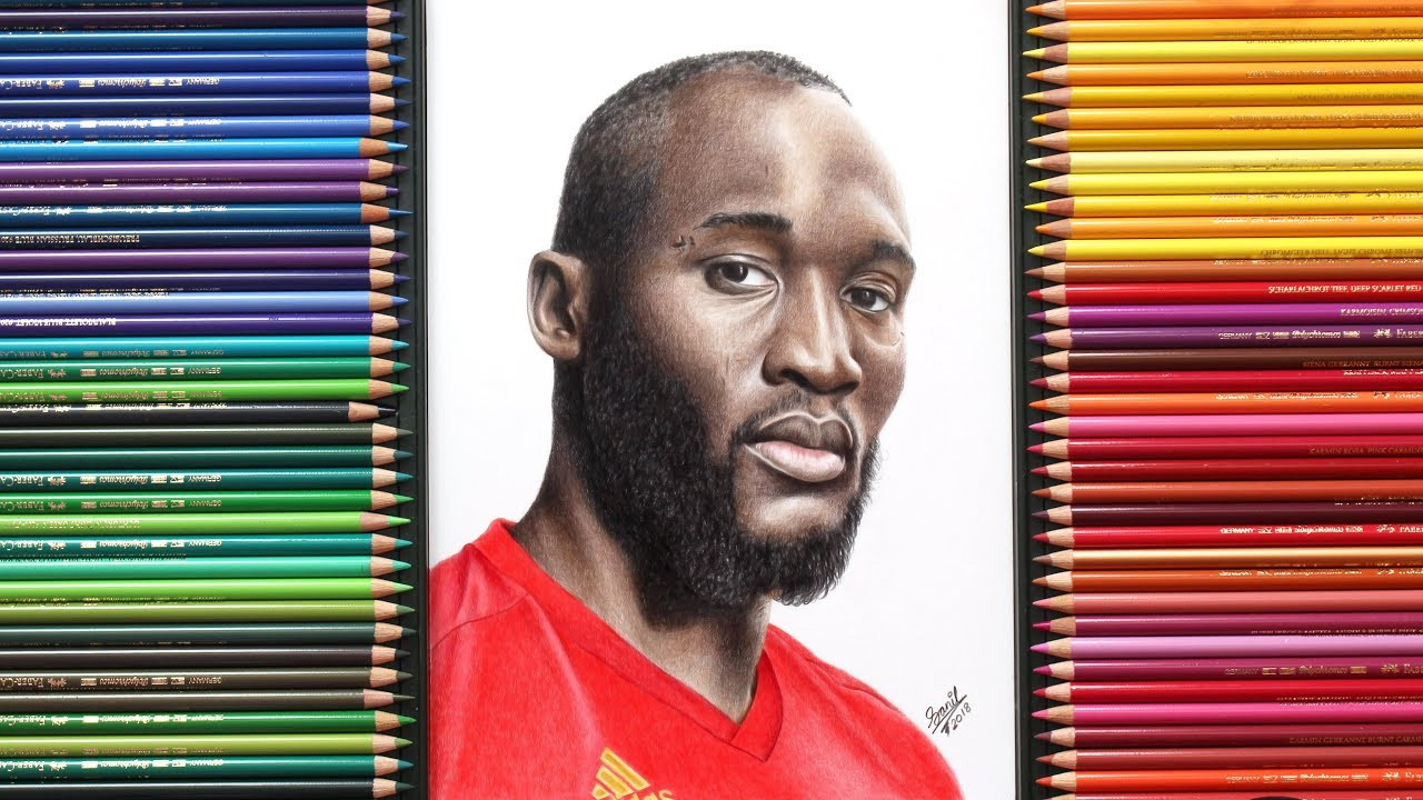 Lukaku Drawing.... World Cup 2018