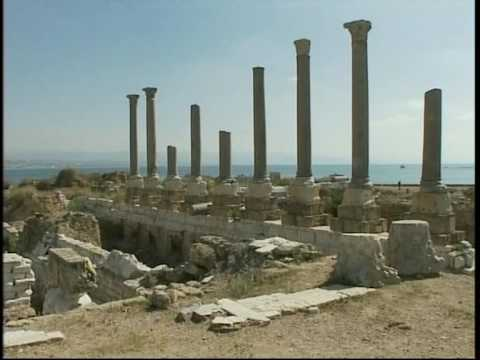 2009_46 Clip 2 Collapse of Ancient Tyre, Lebanon