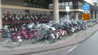Bicycle Parking Problems in Utrecht, Netherlands