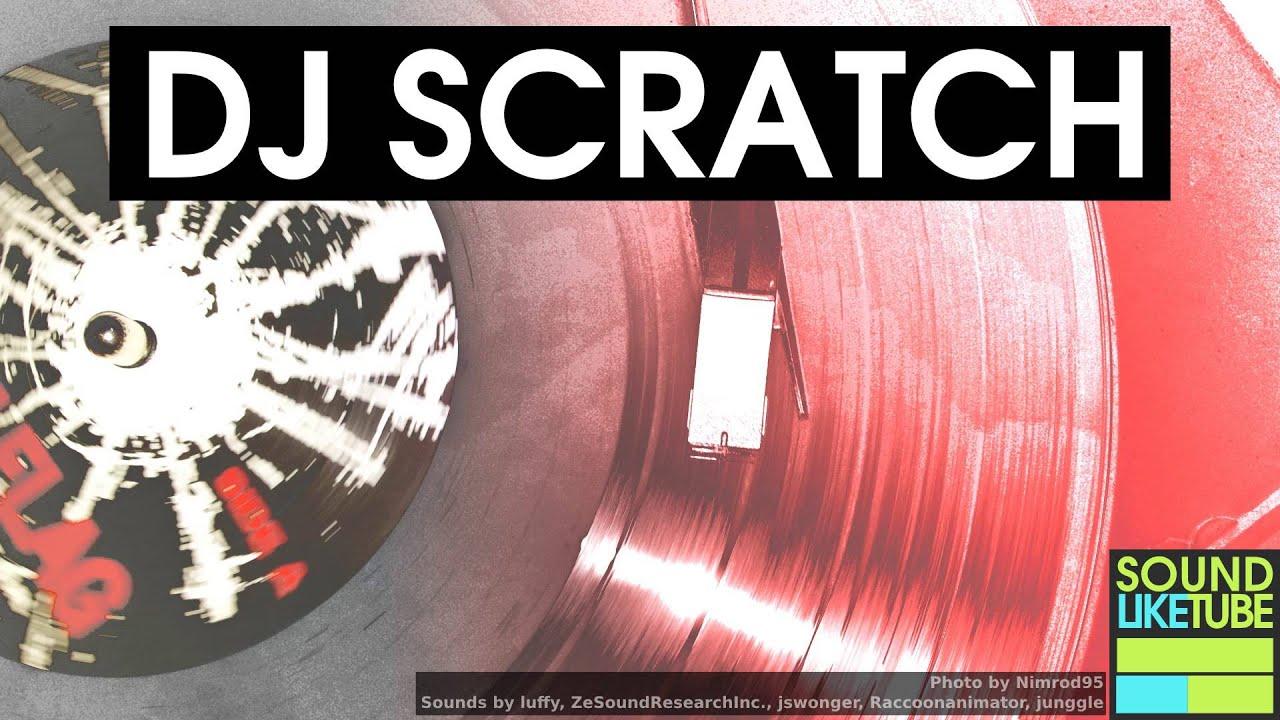 bruitage scratch dj