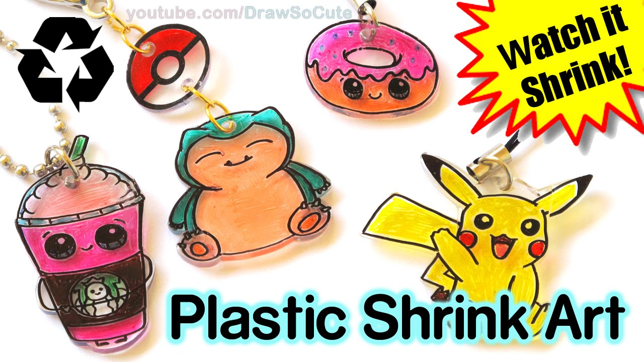 Diy How To Make Shrink Charms With Recycled Plastic Step