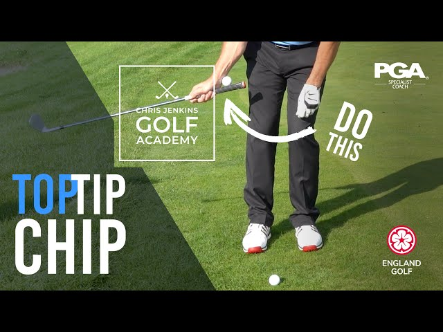 Chipping Flail Golf Tip - IMPROVE YOUR CHIPPING WITH THIS DRILL