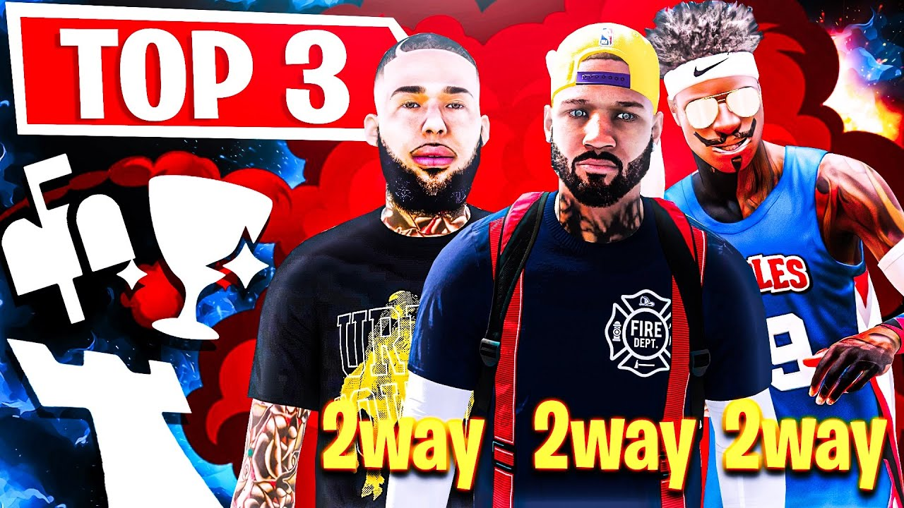 "TOP 3 ""2 WAY"" CENTER BUILDS ON NBA 2K20! BEST BUILDS AND JUMPSHOTS IN NBA 2K20!"