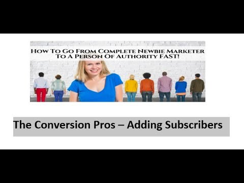 The Conversion pros - Free Week Trial