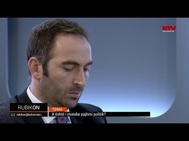 Rubikon - A është i mundur pajtimi politik 28.10.2016