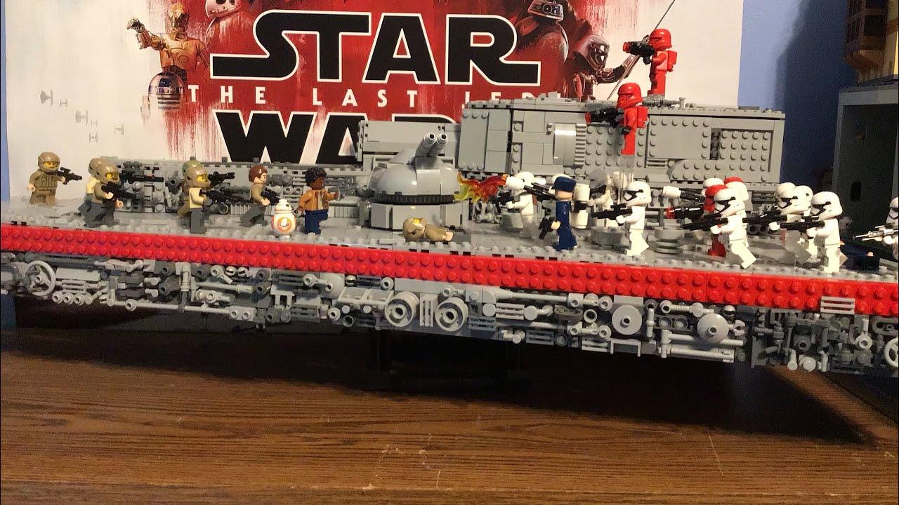 Lego Star Wars The Rise Of Skywalker Final Order Star Destroyer Moc 500 Subscriber Special Youtube