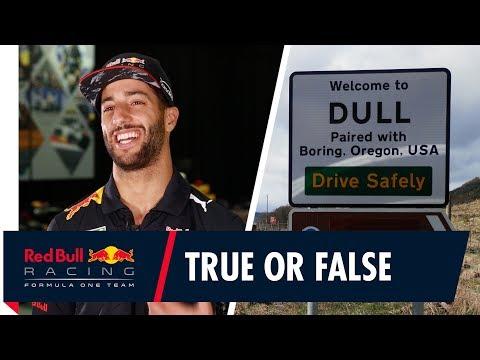 Dull? Daniel Ricciardo's True or False British Grand Prix place names