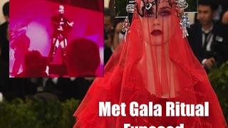 Anti-Christian Katy Perry Embraces Satanic Beltane Ritual at the Illuminati Met Gala