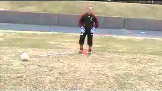 Техника вратарского прыжка