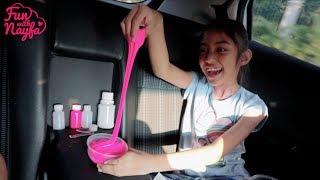 Susah Gampang Bikin Slime Di Mobil Dalam Perjalanan Saat Lebaran