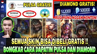 Download Video Terbongkar! Trik Cara Mendapatkan Pulsa & Diamond Secara Gratis! - Mobile Legends MP3 3GP MP4