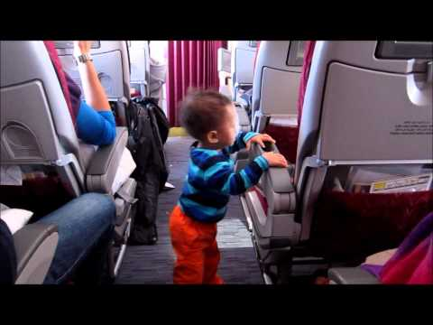RB exploring in Qatar Airways' flight