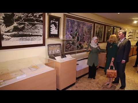 10.29.2017 Ambassador's  visit to El Moudjahid Museum