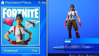 How To Get *NEW* Maven Skin Bundle For FREE In Fortnite!