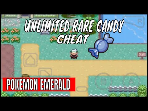 Pokemon Emerald - Rare Candy Gameshark Cheat Code