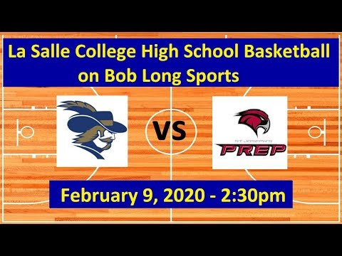 La Salle College High School vs. St. Joseph's Prep Basketball: February 9, 2020 - 2:30pm