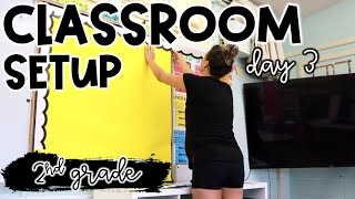 CLASSROOM SETUP Day 3 - More Labels + Bulletin Boards