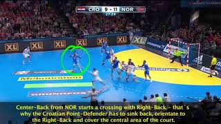 ATHF HANDBALL COACHES EDUCATION (3 2 1 CROATIA TRAP DEFENCE)