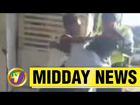 Chaos between Police & Citizens in Portland, Jamaica | TVJ News