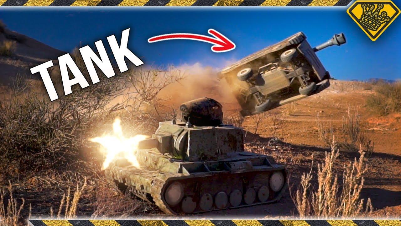 RC Tank Battle - Paintball