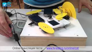Механизм для тестирования телефонов-раскладушек