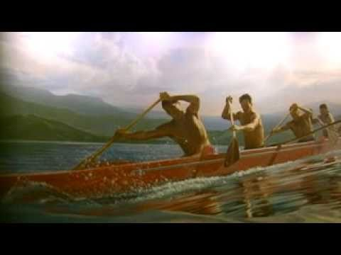 Koa Canoe of native Hawaiian Culture