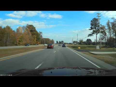 North Carolina State Highway Patrol Speeding to the Starbucks! Speeding Cops