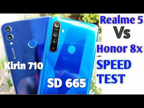 Realme 5 Vs Honor 8x Speed Test, Multitasking Comparison