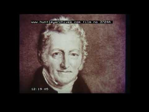 History of the Industrial Revolution.  Archive film 3724