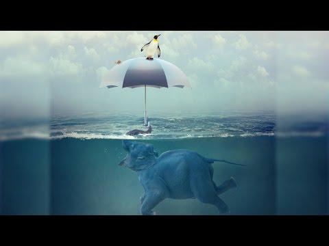 Speed Art - Swimming Elephant - Photoshop