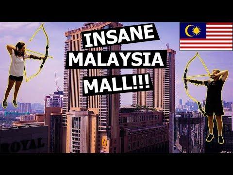 INSANE MALAYSIA MALL in Kuala Lumpur!! (Berjaya Times Square)