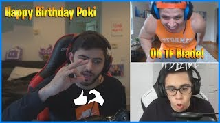 Yassuo Plays in Fed's Room on Pokimane's Birthday | TF Blade Hosts Tyler1 | LoL Daily Moments Ep 458