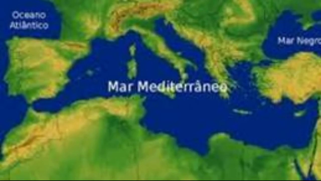 mar mediterraneo - YouTube