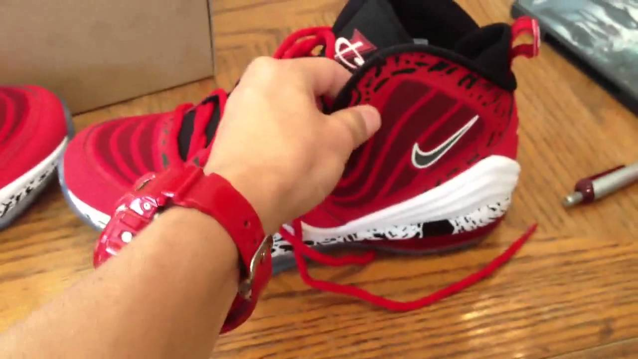 Nike Air Penny V Red Eagle Review and Unboxing