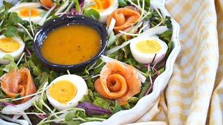훈제연어 달걀샐러드 | 입안에서 녹는 행복함 노른자 드…