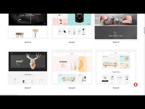 Auros - Furniture Elementor WooCommerce Theme  Gib Kody thumbnail