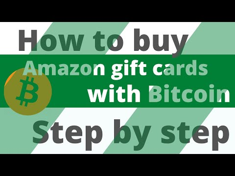 How To Buy Amazon Gift Cards With Bitcoin Step By Step