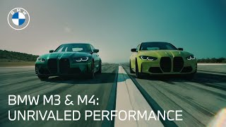 homepage tile video photo for The M Series: BMW M3 & BMW M4 | BMW USA