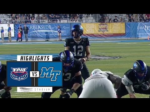 FAU vs. Middle Tennessee Football Highlights (2018) | Stadium