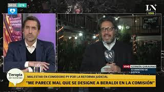 Reforma judicial - Germán Garavano: